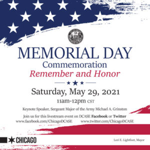 City of Chicago's Memorial Day Commemoration