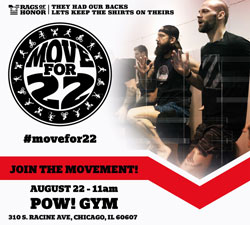 Move for 22 event | Rags of Honor