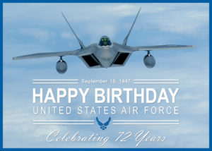 Happy Birthday U.S. Air Force