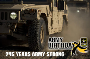 Happy 245th Birthday Army