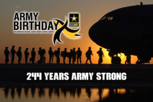 Happy 244th Birthday Army