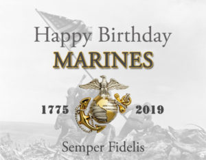 Happy 244th birthday to the United States Marines