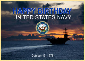 Happy 245th Birthday, U.S. Navy!