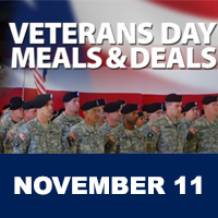 Veterans Day Free Meals and Discounts 2019