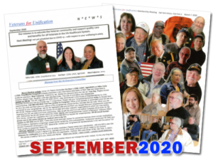 VU Newsletter September 2020