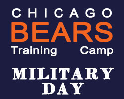 Chicago Bears Military Day at Halas Hall August 26
